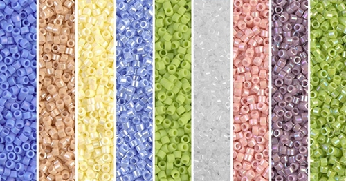 Periwinkle Pals Monday - Exclusive Mix of Miyuki Delica Seed Beads