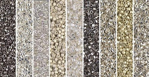 Photographic Monday - Exclusive Mix of Miyuki Delica Seed Beads