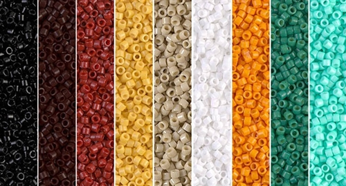 Pristine Monday - Exclusive Mix of Miyuki Delica Seed Beads