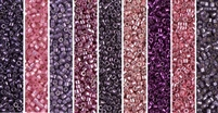 Purple Orchid Monday - Exclusive Mix of Miyuki Delica Seed Beads