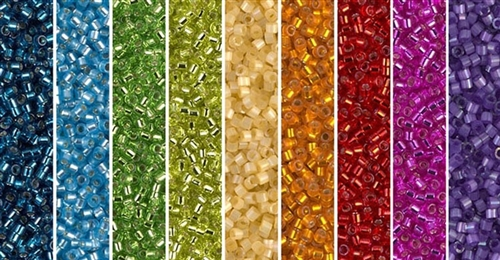 Rainbow Monday - Exclusive Mix of Miyuki Delica Seed Beads
