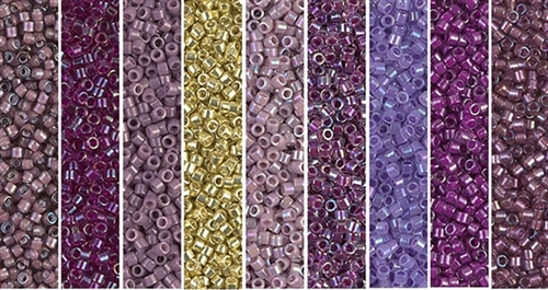 Regal Monday - Exclusive Mix of Miyuki Delica Seed Beads