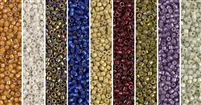 Renaissance Monday - Exclusive Mix of Miyuki Delica Seed Beads