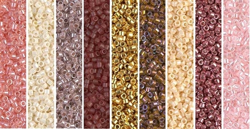 Rosaline Monday - Exclusive Mix of Miyuki Delica Seed Beads