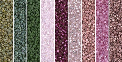 Rose Trellis Monday - Exclusive Mix of Miyuki Delica Seed Beads