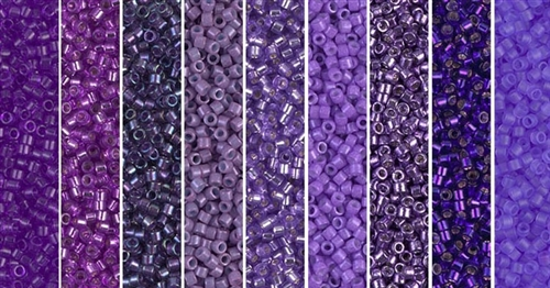 Royal Monday - Exclusive Mix of Miyuki Delica Seed Beads