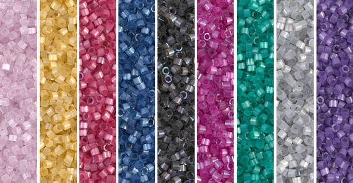 Satin Monday - Exclusive Mix of Miyuki Delica Seed Beads