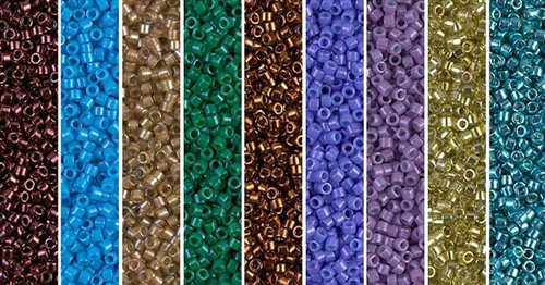 Saturated Monday - Exclusive Mix of Miyuki Delica Seed Beads