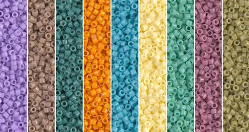 Sea Opal Monday - Exclusive Mix of Miyuki Delica Seed Beads
