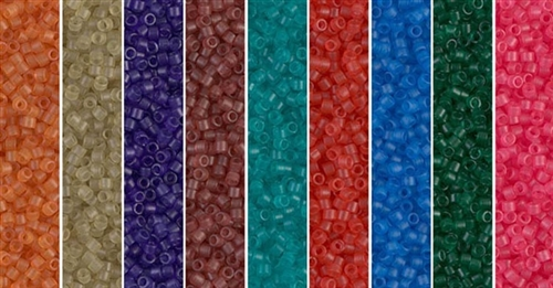 Semi-Matte Monday - Exclusive Mix of Miyuki Delica Seed Beads