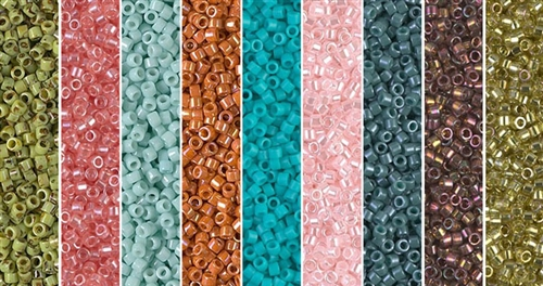 Serafina Monday - Exclusive Mix of Miyuki Delica Seed Beads