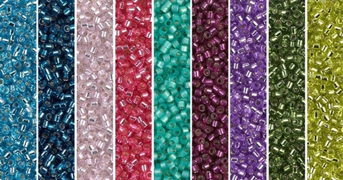 Silver Lining Monday - Exclusive Mix of Miyuki Delica Seed Beads