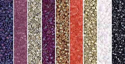 Simplicity Monday - Exclusive Mix of Miyuki Delica Seed Beads