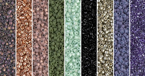 Snake Skin Monday - Exclusive Mix of Miyuki Delica Seed Beads