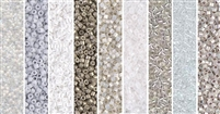 Snow Day Monday - Exclusive Mix of Miyuki Delica Seed Beads