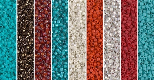 Southwest Monday - Exclusive Mix of Miyuki Delica Seed Beads
