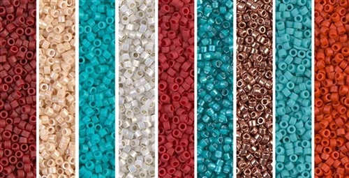 Southwest Copper Version Monday - Exclusive Mix of Miyuki Delica Seed Beads