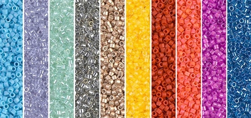 Spring 2014 Monday - Exclusive Mix of Miyuki Delica Seed Beads