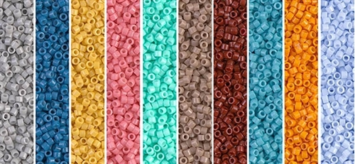 Spring 2015 Monday - Exclusive Mix of Miyuki Delica Seed Beads