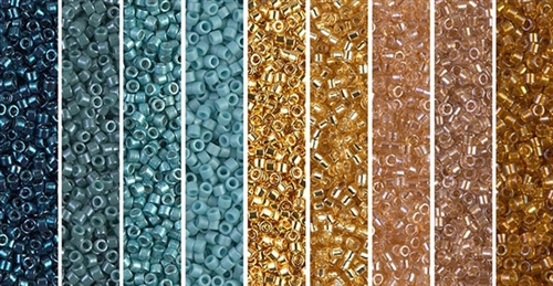 Star Dust Monday - Exclusive Mix of Miyuki Delica Seed Beads