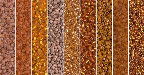 Sweet Potato Pie Monday - Exclusive Mix of Miyuki Delica Seed Beads