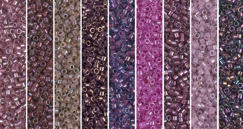 Thistle Monday - Exclusive Mix of Miyuki Delica Seed Beads
