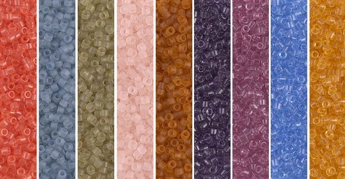 Transparent Monday - Exclusive Mix of Miyuki Delica Seed Beads