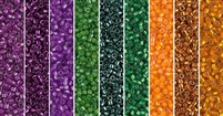 Triadic Monday - Exclusive Mix of Miyuki Delica Seed Beads