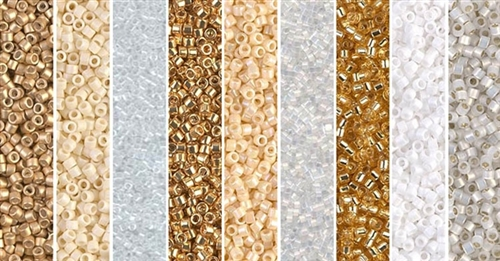 Wedding Bells Monday - Exclusive Mix of Miyuki Delica Seed Beads