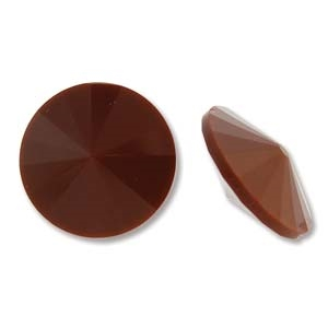 Matubo 18mm Rivoli - RV018CHOC Chocloate - 1 Rivoli