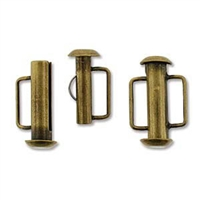 SBC165AB - Antique Brass Slide Bar Clasp - 16.5mm