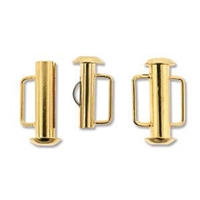 SBC165GP - Gold Plate Slide Bar Clasp - 16.5mm