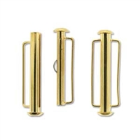 SBC315GP - Gold Plate Slide Bar Clasp - 31.5mm