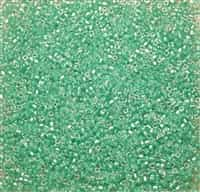 Miyuki Square 1.8MM Beads SBS0219 ICL Clear/Aqua Green