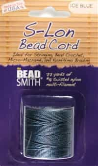 S-Lon Bead Cord - 77 Yard Spool - Ice Blue