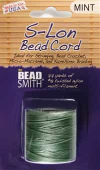 S-Lon Bead Cord - 77 Yard Spool - Mint