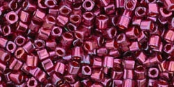 TC01-332 - Toho 1.5mm Cube - Gold-Lustered Raspberry - 5 Grams