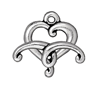 TierraCast : Clasp Set - Jubilee, Antique Silver
