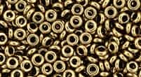 TN08-221 - 8/0 Toho Demi Round 3mm : Bronze - Approx 7.4 Grams