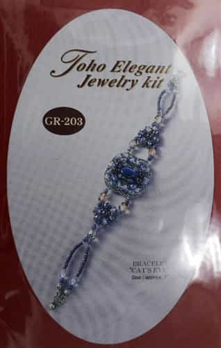 TO-GR-203 - Toho Elegant Jewelry Kit: Cat's Eye Bracelet