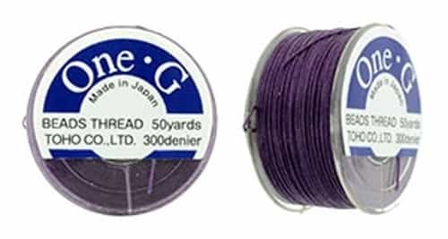 TOG-11 - Toho One-G Beading Thread : Purple - 50 Yards