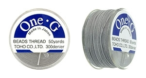 TOG-14 - Toho One-G Beading Thread : Light Grey - 50 Yards
