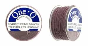 TOG-16 - Toho One-G Beading Thread : Mauve - 50 Yards
