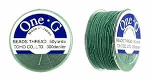 TOG-21 - Toho One-G Beading Thread : Mint Green - 50 Yards