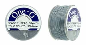 TOG-3 - Toho One-G Beading Thread : Gray - 50 Yards