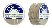 TOG-4 - Toho One-G Beading Thread : Beige - 50 Yards