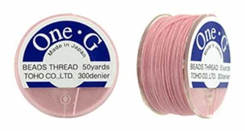 TOG-5 - Toho One-G Beading Thread : Pink - 50 Yards