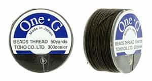 TOG-7 - Toho One-G Beading Thread : Brown - 50 Yards