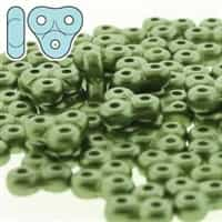 TRT-25034 - Trinity Beads 6x6mm - Pastel Olivine - 25 Count