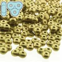 TRT-29418 - Trinity Beads 6x6mm - Matte Metalliclic Olivine - 25 Count